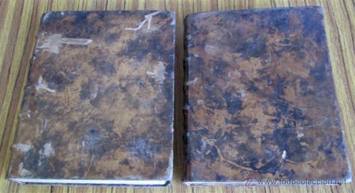 Diccionarios antiguos: 2 tomos - Diccionario nuevo de las lenguas españolas y francesas - Por Francisco Sobrino 1734 - Foto 2 - 52124821