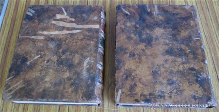 Diccionarios antiguos: 2 tomos - Diccionario nuevo de las lenguas españolas y francesas - Por Francisco Sobrino 1734 - Foto 3 - 52124821