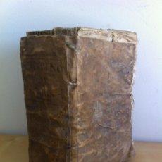 Diccionarios antiguos: DICCIONARIO HISPANO - LATINO. AÑO 1775. VER FOTOGRAFÍAS ADJUNTAS.. Lote 52148429