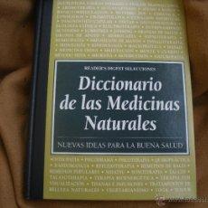Diccionarios antiguos: DICIONARIO DE LAS MEDICINAS NATURALES. Lote 52591939