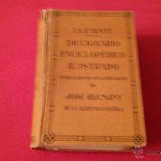 Diccionarios antiguos: DICCIONARIO ENCICLOPÉDICO ILUSTRADO PUBLICADO EN 1934. Lote 52766210