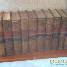 Diccionarios antiguos: DICCIONARIO DE LA ADMINISTRACIÓN ESPAÑOLA -ALCUBILLA - SEXTA EDIC. - AÑOS 1914 AL 1921- DIEZ TOMOS-. Lote 52853114