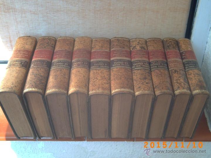 Diccionarios antiguos: DICCIONARIO DE LA ADMINISTRACIÓN ESPAÑOLA -ALCUBILLA - SEXTA EDIC. - AÑOS 1914 AL 1921- DIEZ TOMOS- - Foto 2 - 52853114