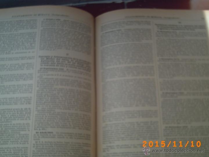 Diccionarios antiguos: DICCIONARIO DE LA ADMINISTRACIÓN ESPAÑOLA -ALCUBILLA - SEXTA EDIC. - AÑOS 1914 AL 1921- DIEZ TOMOS- - Foto 15 - 52853114
