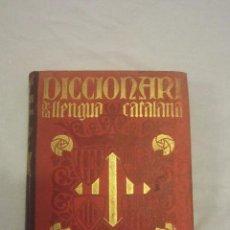 Diccionarios antiguos: DICCIONARI DE LA LLENGUA CATALANA VOL.III. Lote 53067270
