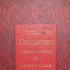 Diccionarios antiguos: A. ROVIRA I VIRGILI DICCIONARI CATALA-CASTELLA ANTONIO LOPEZ LLIBRETER AÑO 1923 ARTICULO ORIGINAL. Lote 53345647