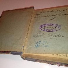 Diccionarios antiguos: PEQUEÑO DICCIONARIO ESPAÑOL AÑO 1936. Lote 53503550