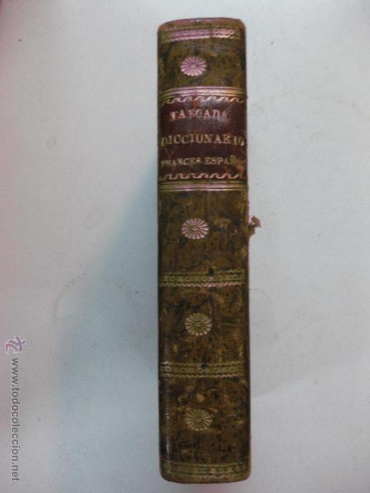 NOUVEAU DICTIONNAIRE DE POCHE FRANÇAIS-ESPAGNOL, OU ABREGE DU DICTIONNAIRE DE NUÑEZ DE TABOADA 1825 (Libros Antiguos, Raros y Curiosos - Diccionarios)