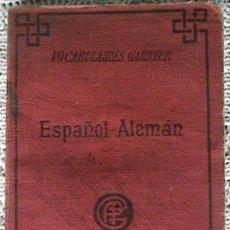Diccionarios antiguos: ANTIGUO DICCIONARIO GARNIER ESPAÑOL ALEMÁN. Lote 53529866