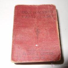 Diccionarios antiguos: DICCIONARIO CASTELLANO / ESPAÑOL 1890. SCHMIDT & GÜNTHER.LEIPZIG. Lote 201569177