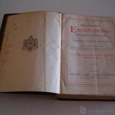 Diccionarios antiguos: DICCIONARIO ENCICLOPÉDICO HISPANO-AMERICANO. RM72993. . Lote 54173073