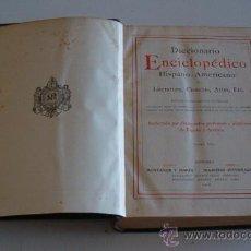 Diccionarios antiguos: DICCIONARIO ENCICLOPÉDICO HISPANO-AMERICANO. RM72994. . Lote 54173142