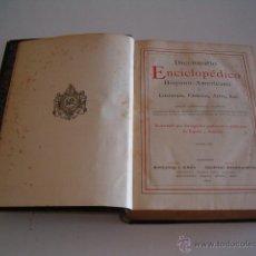 Diccionarios antiguos: DICCIONARIO ENCICLOPÉDICO HISPANO-AMERICANO. RM72995. . Lote 54173226