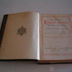 Diccionarios antiguos: DICCIONARIO ENCICLOPÉDICO HISPANO-AMERICANO. RM72996. . Lote 54173265