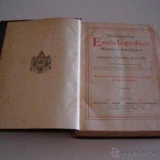 Diccionarios antiguos: DICCIONARIO ENCICLOPÉDICO HISPANO-AMERICANO. RM72997. . Lote 54173304