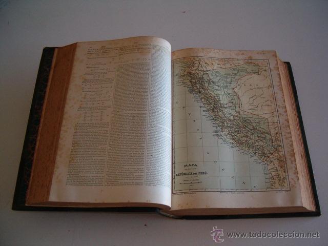 Diccionarios antiguos: Diccionario Enciclopédico Hispano-Americano. RM72997. - Foto 2 - 54173304