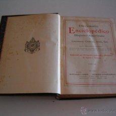 Diccionarios antiguos: DICCIONARIO ENCICLOPÉDICO HISPANO-AMERICANO. RM72999. . Lote 54173390