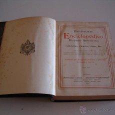 Diccionarios antiguos: DICCIONARIO ENCICLOPÉDICO HISPANO-AMERICANO. RM73002. . Lote 54173507