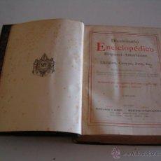Diccionarios antiguos: DICCIONARIO ENCICLOPÉDICO HISPANO-AMERICANO. RM73003. . Lote 54173536