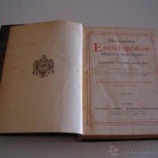 Diccionarios antiguos: DICCIONARIO ENCICLOPÉDICO HISPANO-AMERICANO. RM73004. . Lote 54173572