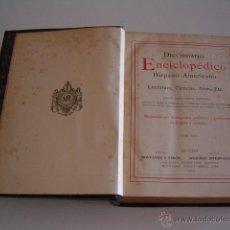 Diccionarios antiguos: DICCIONARIO ENCICLOPÉDICO HISPANO-AMERICANO. RM73005.. Lote 54173596