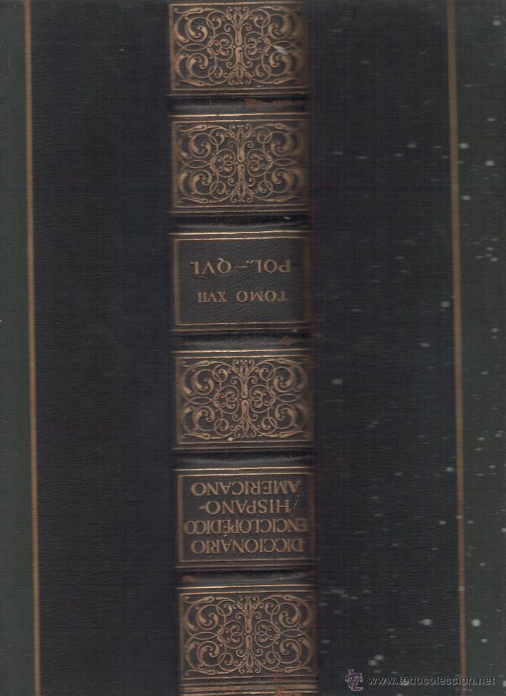 Diccionarios antiguos: Diccionario Enciclopédico Hispano-Americano. RM72998. - Foto 3 - 54173347