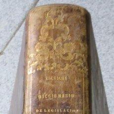 Diccionarios antiguos: DICCIONARIO DE LEGISLACION Y JURISPRUDENCIA TOMO 2 DON JOAQUIN ESCRICHE AÑO 1847 SIGLO XIX. Lote 54247812