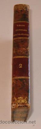 NUÑEZ DE TABOADA. NUEVO DICCIONARIO ESPAÑOL-FRANCÉS Y FRANCÉS-ESPAÑOL. TOMO II. RM73298. (Libros Antiguos, Raros y Curiosos - Diccionarios)