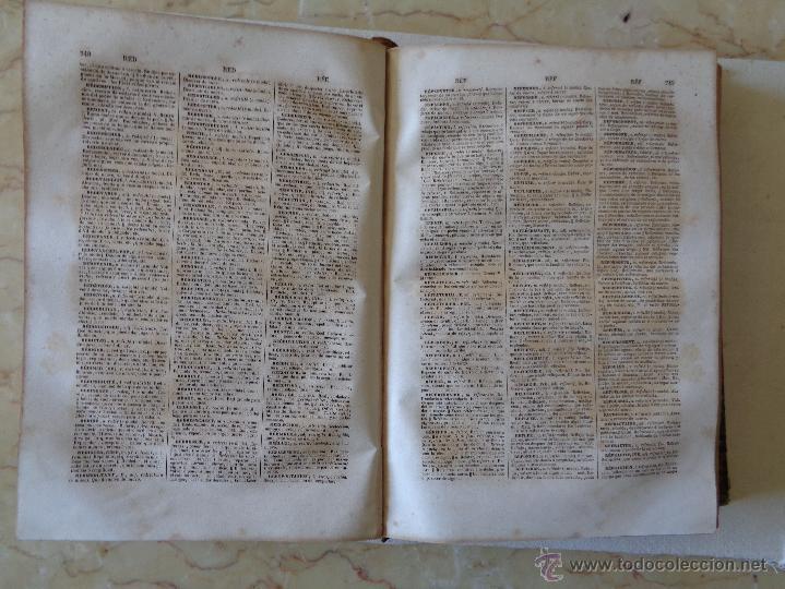 Diccionarios antiguos: DICCIONARIO FRANCES-ESPAÑOL.-344 - Foto 3 - 54568390