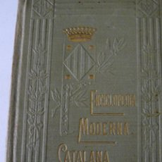 Diccionarios antiguos: ENCICLOPEDIA MODERNA CATALANA DICCIONARI CATALÀ CASTELLÀ JOSEPH FITER 1912 COMPLETA. Lote 54769168
