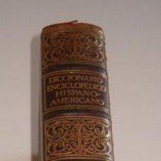 Diccionarios antiguos: DICCIONARIO ENCICLOPÉDICO HISPANO-AMERICANO. TOMO III: B.-BYZ. RM73490. . Lote 54800385