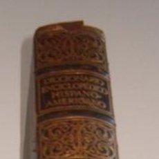 Diccionarios antiguos: DICCIONARIO ENCICLOPÉDICO HISPANO-AMERICANO. TOMO XVIII. RM73491. . Lote 54800465