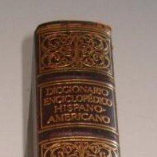 Diccionarios antiguos: DICCIONARIO ENCICLOPÉDICO HISPANO-AMERICANO. TOMO XXV, RM73492. Lote 54800572