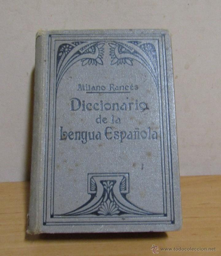 Diccionarios antiguos: DICCIONARIO DE LA LENGUA ESPAÑOLA ATILANO RANCÉS EDITORIAL RAMON SOPENA S.A. BARCELONA AÑO 1935 - Foto 2 - 55063020