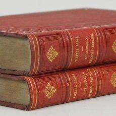 Diccionarios antiguos: 7349 - NOUVEAU DICTIONNAIRE ESPAGNOL-FRANÇAIS. 2 TOMOS(VER DESCRIP). 1889-1890.. Lote 56068999