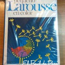 Diccionarios antiguos: PEQUEÑO LAROUSSE EN COLOR , AÑOS 80. NUEVO DE TIENDA. Lote 56314615