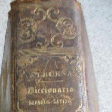 Diccionarios antiguos: DICCIONARIO ESPAÑOL-LATINO D. MANUEL DE VALBUENA EDIT LIBRERÍA DE GARNIER HNOS AÑO 1852 SIGLO XIX. Lote 56348500