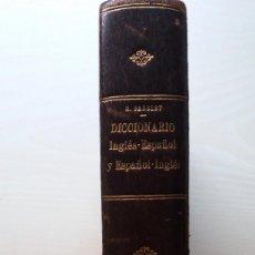 Diccionarios antiguos: NUEVO DICCIONARIO INGLES ESPAÑOL - ESPAÑO INGLES .LOPES -BENSLEY GARNIER 1903. Lote 56495616