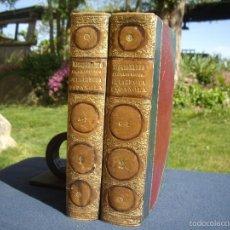 Diccionarios antiguos: DICCIONARIO ENCICLOPEDICO DE LA LENGUA ESPAÑOLA, 2 TOMOS, ED.GASPAR Y ROIG 1864. Lote 56647871