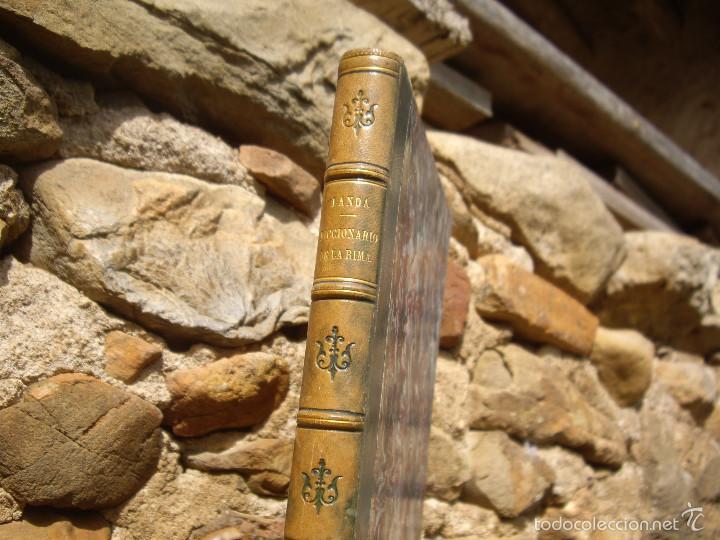 Diccionarios antiguos: Juan Landa: DICCIONARIO DE LA RIMA, Est.Tipográfico de Ramírez y C.ª 1867 - Foto 2 - 56655680