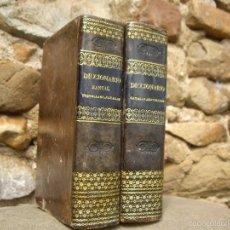 Diccionarios antiguos: MAGIN FERRER Y PONS: DICCIONARIO MANUAL CASTELLANO-CATALÁN, 2 TOMOS, IMP.PABLO RIERA. REUS 1836. Lote 56662273