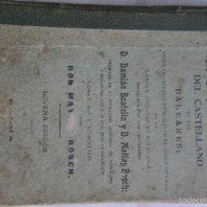 Diccionarios antiguos: ENSEÑANZA PRACTICA DEL CASTELLANO EN LAS ISLAS BALEARES. Lote 56904682