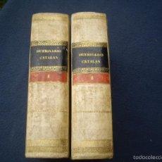 Diccionarios antiguos: LABERNIA: DICCIONARI DE LA LLENGUA CATALANA, 2 VOLS. O.C. HEREUS DE LA V.PLA 1839-1840. Lote 56945570