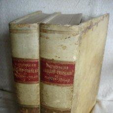 Diccionarios antiguos: DICTIONNAIRE ANGLAIS FRANÇAIS ET FRANÇAIS ANGLAIS.. Lote 57111954