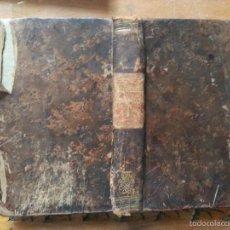 Diccionarios antiguos: 1862 DICCIONARIO - MARTINEZ LOPEZ MAUREL - ESPAÑ FRANC , ESPAÑOL FRANCES - TAPA PIEL , PARIS. Lote 57252253