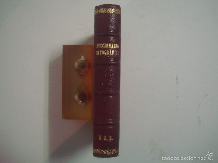 DICCIONARIO ORTOGRÁFICO DE BOLSILLO. EDICONES HYMSA APROX. 1930.BUEN EJEMPLAR (Libros Antiguos, Raros y Curiosos - Diccionarios)