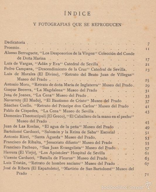 Diccionarios antiguos: PINTORES DE ESPAÑA AÑOS 1480 A 1874 JOAQUÍN CIERVO RAMÓN TOBELLA IMPRE 1925 GOYA EL GRECO VELÁZQUEZ - Foto 18 - 57554927