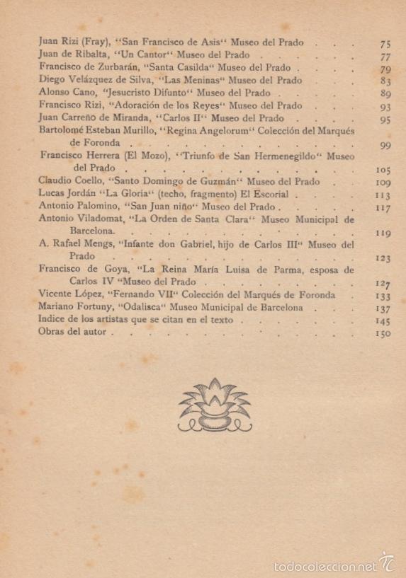 Diccionarios antiguos: PINTORES DE ESPAÑA AÑOS 1480 A 1874 JOAQUÍN CIERVO RAMÓN TOBELLA IMPRE 1925 GOYA EL GRECO VELÁZQUEZ - Foto 19 - 57554927