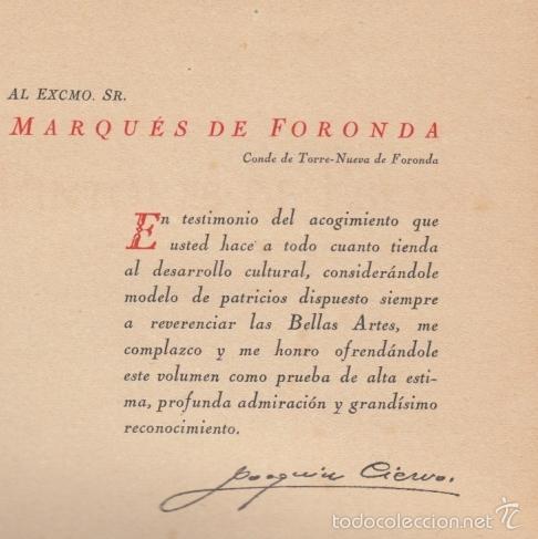 Diccionarios antiguos: PINTORES DE ESPAÑA AÑOS 1480 A 1874 JOAQUÍN CIERVO RAMÓN TOBELLA IMPRE 1925 GOYA EL GRECO VELÁZQUEZ - Foto 20 - 57554927