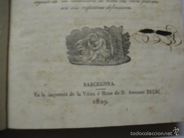 Diccionarios antiguos: DICCIONARIO DE LA RIMA LENGUA CASTELLANA- A. GRACIA- IMP. BRUSI- BARCELONA 1829-VER FOTOS - (XL-41) - Foto 4 - 57733164